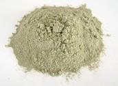 Powder form of mescaline