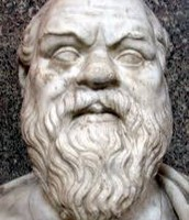 How did Socrates challenge the values of the people of Athens?