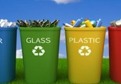 Helps not to  by putting garbage in recycling bins