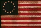 Original Thirteen Colonies Rebellion flag