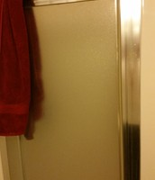 me gusta usar la ducha