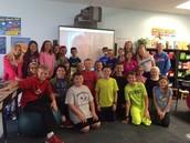 5th grade author visit