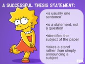 thesis statemnets