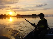 i love to go fishing