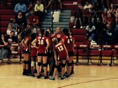 7th Grade A Team Huddle