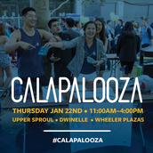 Calapalooza - Spring 2015