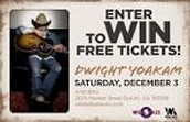 giveaway of tickets to increase buzz and population at a country concert