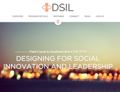 Designing for Social Innovation and Leadership (DSIL) Field Course eFORUM
