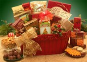 Have A Very Merry Christmas Holiday Gift Basket