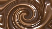 swirl of chocolate