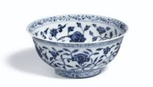 Ancient Ming Dynasty Ceramic Bowl