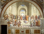 School of Athens, painting