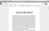 My L.A essay