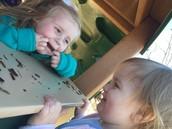 Playground silliness.