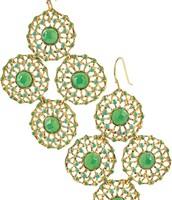 Garden party earrings - Reserved!