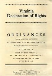 How has the Virginia Declaration of Rights impacted the U.S. Government