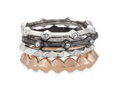 SOLD Katelyn Mixed Metal Bands Size 7 - Was $44 Now $30