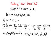 Finding the Zero #2