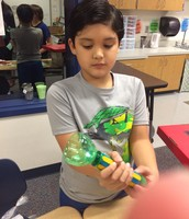 PBL using recycled materials to make objects to sell at each store