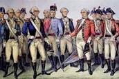 Generals of the battle of Yorktown.