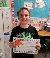 Congratulations Connor for Completing the 1st 100 Fry Words!