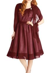 Old Fashioned Fanfare Dress