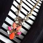 Geo Pop Pendant Necklace