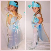 JoLeigh As Super Elsa on Halloween