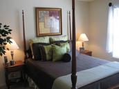 12' X 13' bedroom