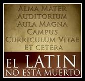 ¿Para que me sirve la lengua latina en mi vida diaria?