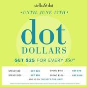 Dot Dollar Time!