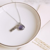 Peace Charity Charm Necklace $45