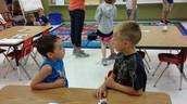 Grade levels working together