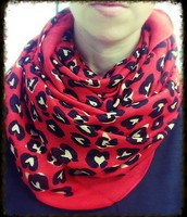 Scarf in Wild Hearts