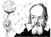 Galileo Galilei Observing the earth