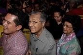 Dr Mahathir at Bersih 4