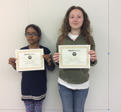 WordMasters high scorers from our Homeroom