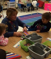 Kinder math centers