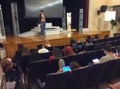 Built in auditorium!