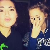 Bailee and I