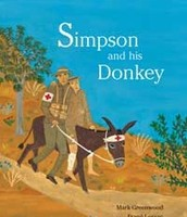 John Simpson and his donkey book