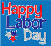 Monday, September 7, 2015 - No School - Labor Day - District Closed