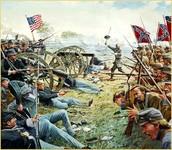 Battle at Gettysburg