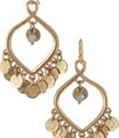 Rio Chandelier Earring -- Gold