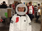 Astronaut Gus Grissom from the MES Wax Museum