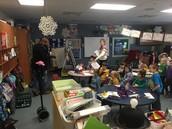 Kindergarten in action!