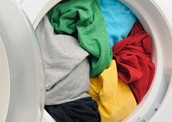 Only run the laundry when full to optimize the laundry to water ratio.  Same goes for the dishwasher!