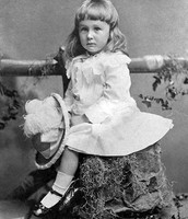 FDR as a child when he was two
