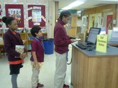 """Self Circulation Station"" opens at WMS"