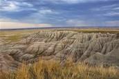 The Landscape Of The Badlands